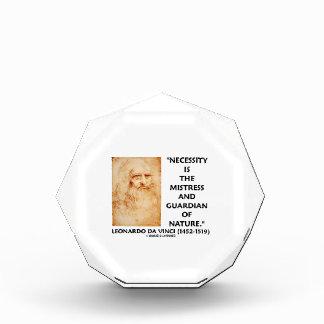 da Vinci Necessity Mistress Guardian Of Nature Acrylic Award
