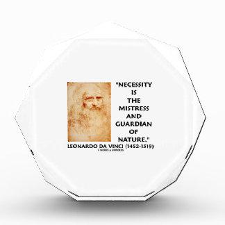 da Vinci Necessity Mistress Guardian Of Nature Award