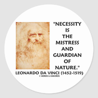 da Vinci Necessity Mistress Guardian Of Nature Sticker