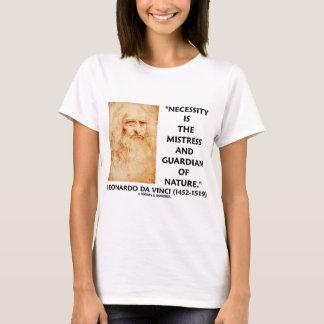 da Vinci Necessity Mistress Guardian Of Nature T-Shirt