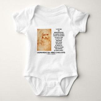 da Vinci Picture Representation Figures Purpose Baby Bodysuit
