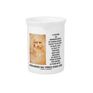 da Vinci Picture Representation Figures Purpose Drink Pitchers