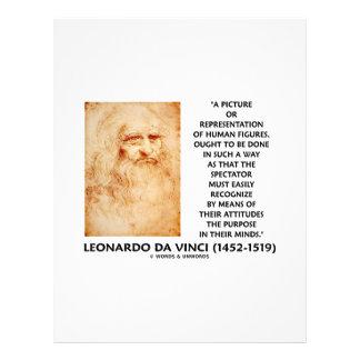 da Vinci Picture Representation Figures Purpose Letterhead
