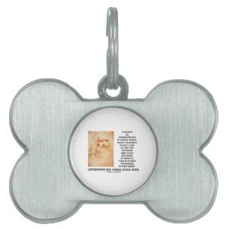 da Vinci Picture Representation Figures Purpose Pet Tag