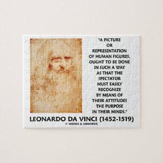 da Vinci Picture Representation Figures Purpose Puzzle