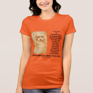 da Vinci Picture Representation Figures Purpose T-Shirt