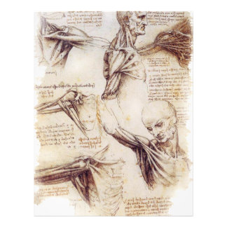 da Vinci -- Shoulder Sketch Personalized Flyer
