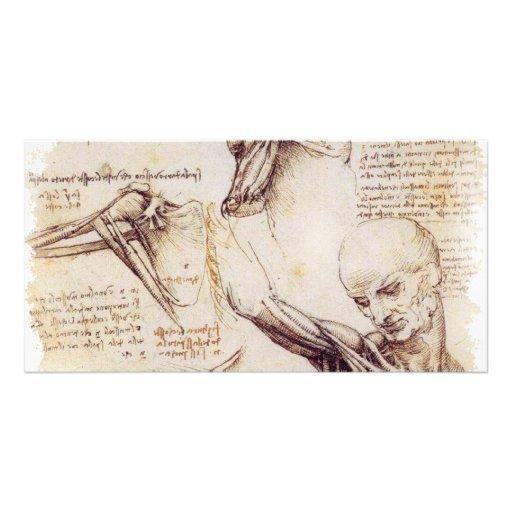 da Vinci -- Shoulder Sketch Photo Card