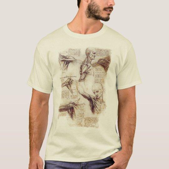 da Vinci -- Shoulder Sketch T-Shirt