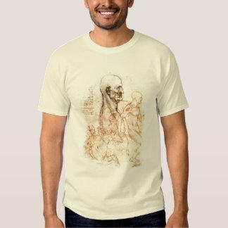 da Vinci Sketch -- Man and Horse Shirts