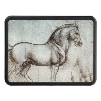Da Vinci Study of a Horse Pencil Drawing Sketch Trailer Hitch Cover