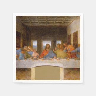 Da Vinci The Last Supper Paper Napkin