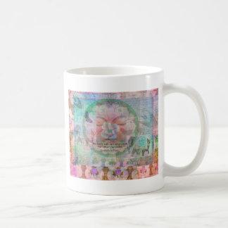 Da Vinci Vegetarian quote Classic White Coffee Mug