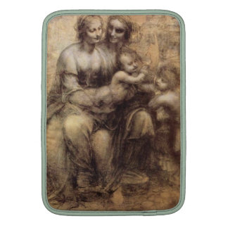 Da Vinci Virgin and Child with St Anne and St John MacBook Air Sleeves