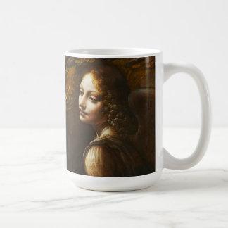 Da Vinci Virgin of the Rocks Angel Mug