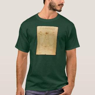 Da Vinci Vitruve Luc Viatour T-Shirt