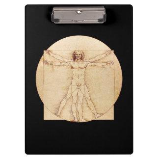 Da Vinci Vitruvian Man Clipboard