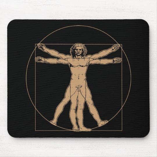 Da Vinci Vitruvian Man Mousepad