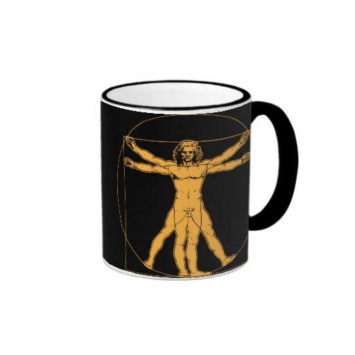 Da Vinci Vitruvian Man Mug