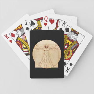 Da Vinci Vitruvian Man Playing Cards