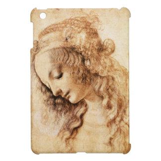 Da Vinci Woman's Head iPad Mini Case