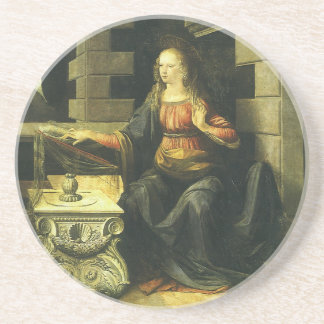 da Vinci's Annunciation, pt1 Drink Coaster