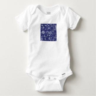 Da Vinci's Blueprints // Baby Onesie