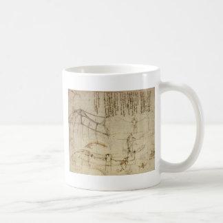 Da Vinci's Flying Contraption Classic White Coffee Mug