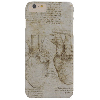 Da Vinci's Human Heart Anatomy Sketches Barely There iPhone 6 Plus Case