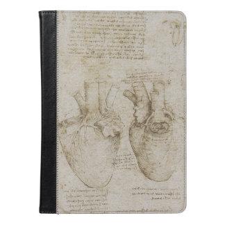 Da Vinci's Human Heart Anatomy Sketches iPad Air Case