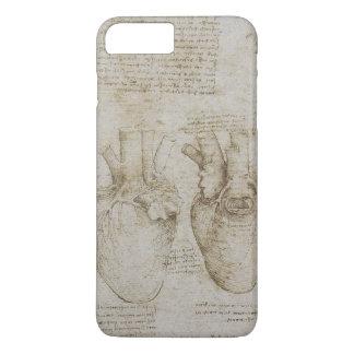 Da Vinci's Human Heart Anatomy Sketches iPhone 7 Plus Case