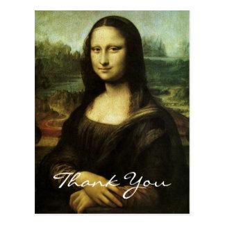 da Vinci's Mona Lisa Postcard