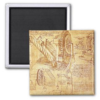 Da Vinci's Notes Magnets