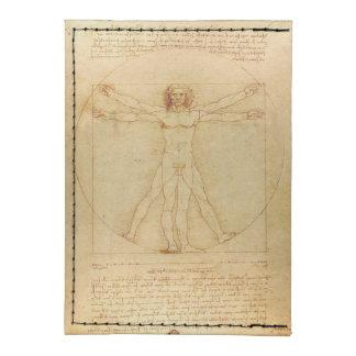 Da Vinci's Vitruvian Man Tyvek® Card Case Wallet