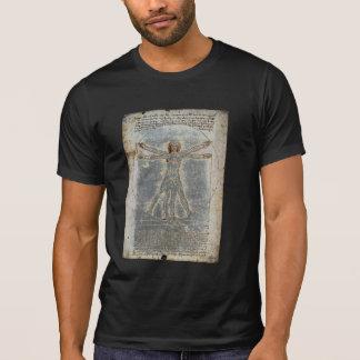 Da Vinci's Vitruvian Man T-Shirt