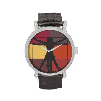 Da Vinci's Vitruvian Man Wrist Watch