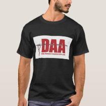DAA logo T black T-Shirt