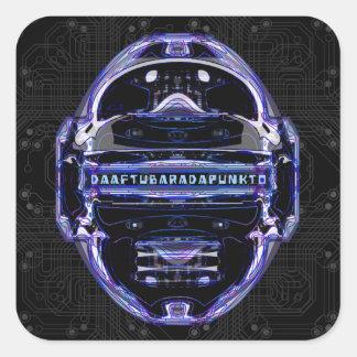 Daaftu Barada Punkto Square Sticker