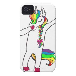 Dab unicorn iPhone 4 case