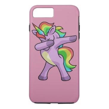 Beach Themed Dab Unicorn iPhone 8 Plus/7 Plus Case