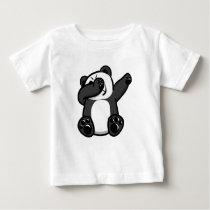 Dabbing Animals Panda Baby T-Shirt