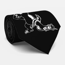 Dabbing Honey badger Neck Tie