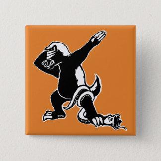 Dabbing Honey badger Pinback Button