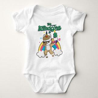 Dabbing Llamacorn Llama Unicorn 8TH Birthday Baby Bodysuit