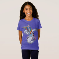 Dabbing Mermaid Unicorn T-Shirt