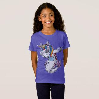 Dabbing Mermaid Unicorn T-Shirt