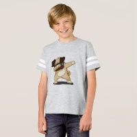 Dabbing Pug Funny Shirt