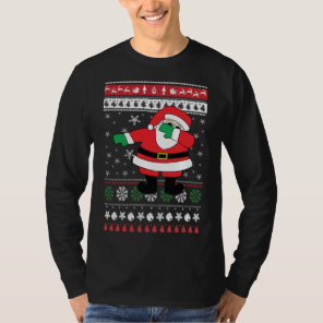 Dabbing Santa Ugly Christmas Sweater