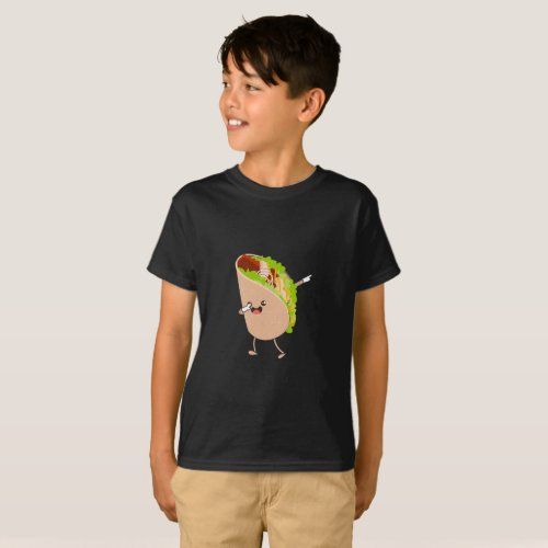 Dabbing Taco Cinco de Mayo Mexican T_Shirt
