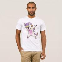 Dabbing Unicorn america T-Shirt
